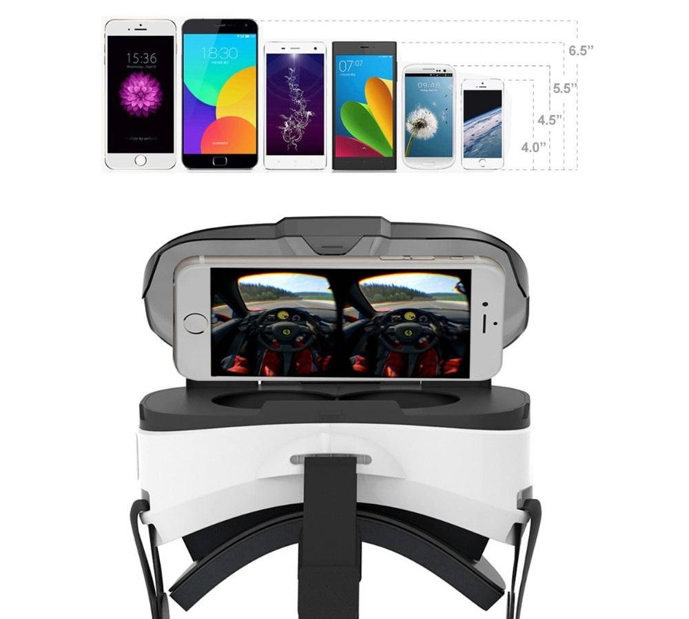 Visor de Realidad Virtual para Celular de Plástico Cardboard México