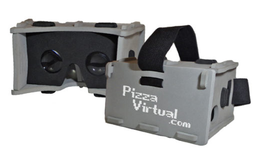 Pizza Virtual 2.0 Gris