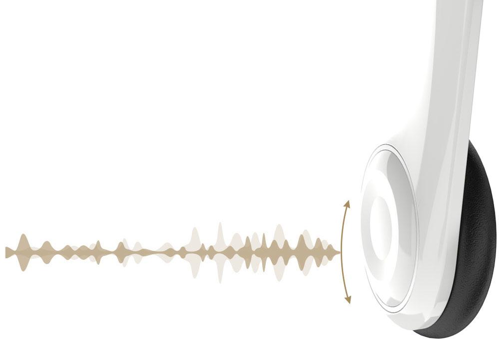 Google Cardboard de Plástico con Audífonos