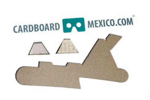 tela conductiva google cardboard v2